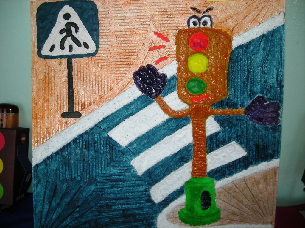 Поделка страна светофория